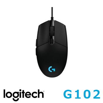 羅技 Logitech G102 PRODIGY 有線遊戲滑鼠