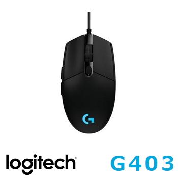 羅技 Logitech G403 PRODIGY 有線遊戲滑鼠(910-004827)
