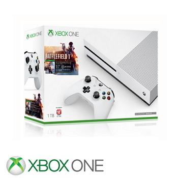 「同捆組」【1TB】XBOX ONE S主機 戰地風雲1 Battlefield 1
