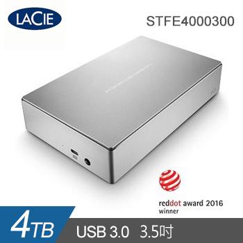 【4TB】Lacie 3.5吋 外接式硬碟(STFE4000300)