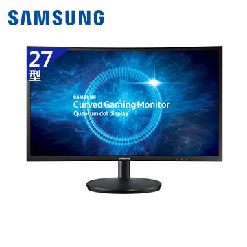 【27型】SAMSUNG C27FG70FQE電競曲面液晶顯示器