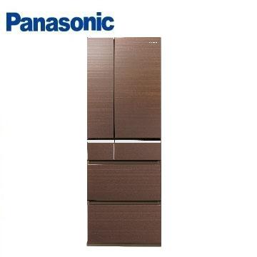 Panasonic 501公升頂級ECONAVI六門變頻冰箱(NR-F502VG-T1(翡翠棕))