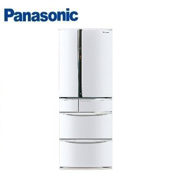 Panasonic 501公升旗艦ECONAVI六門變頻冰箱(NR-F502VT-W1(晶鑽白))