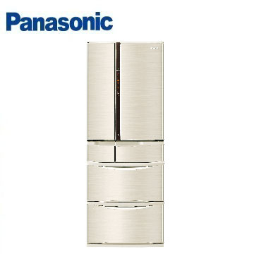 Panasonic 501公升旗艦ECONAVI六門變頻冰箱(NR-F502VT-N1(香檳金))