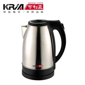 【福利品】 可利亞2.2L分離式不鏽鋼電水壺(KR-303N)