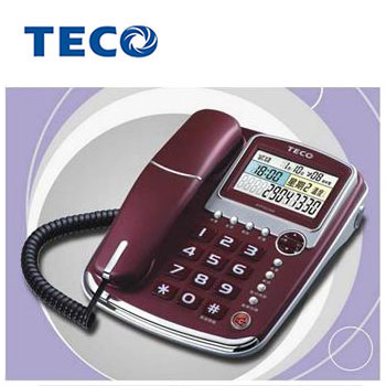 TECO 來電顯示報號有線電話(XYFXC003)