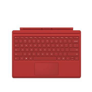 【展示品】微軟Surface Pro 4 實體鍵盤(紅)(QC7-00157)