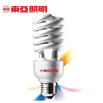 東亞24W電子式螺旋省電燈泡-燈泡色-3入(EFS24L-G1-TH)