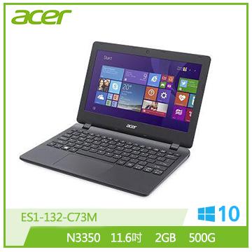 ACER ES1-132 N3350 雙核輕巧筆電(ES1-132-C73M)