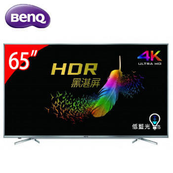 【展示機】BenQ 65型4K LED低藍光顯示器