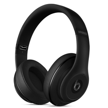 Beats Studio Wireless 頭戴式耳機-霧面黑(MHAJ2PA/A)