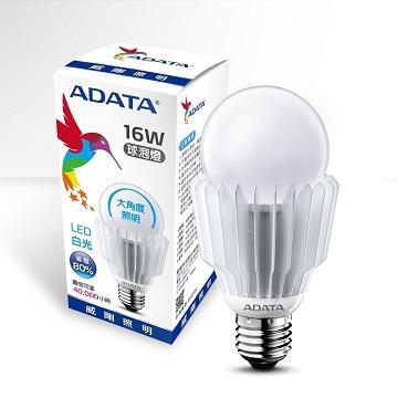 ADATA 威剛16W大角度LED球泡燈-白光(16W)