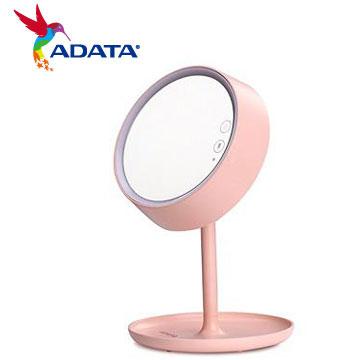 ADATA 威剛LED 炫彩化妝鏡檯燈(粉)(AL-DKDIM-3WRGBPK)
