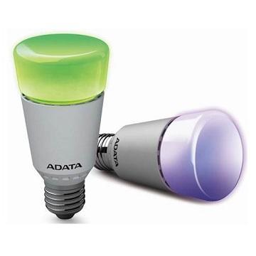 ADATA 威剛7W AURA 藍牙 RGB 球泡燈(AL-BUA19B-7WRGB-2)