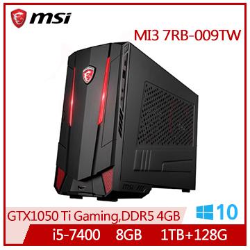 微星(MSI) Nightblade MI3 7RB 7代i5 GTX1050 桌上型電腦