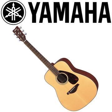 YAMAHA 41吋民謠吉他-原木亮面(FG700S)