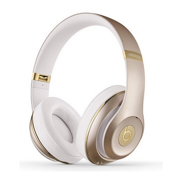 BeatsStudio耳罩式無線耳機-金
