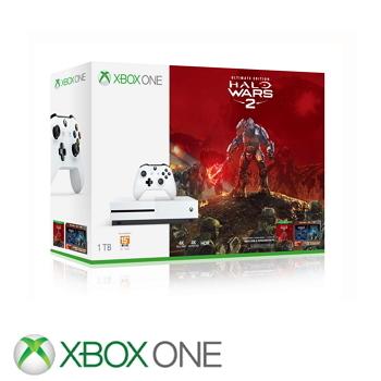 【1TB】XBOX ONE S 最後一戰: 星環戰役2同捆組(234-00148)