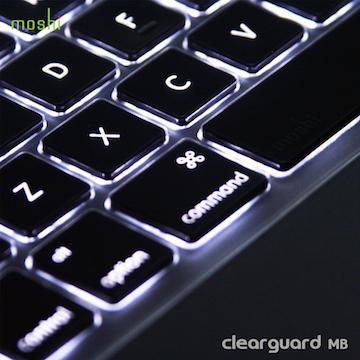 【13/15】moshi MacBook 13/15高透光超薄鍵盤膜(99MO021901)