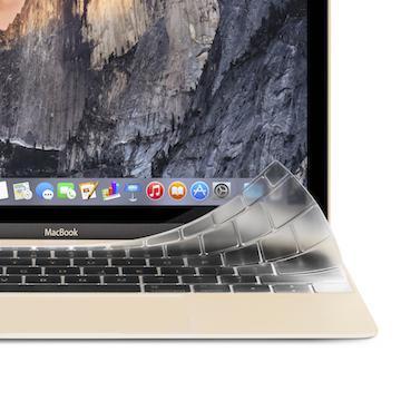 moshi MacBook 12/13鍵盤膜-無Touch Bar(99MO021911)