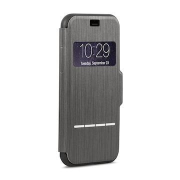 【iPhone 8 / 7】moshi SenseCover 感應式保護套-黑(99MO072008)