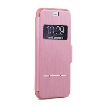 【iPhone 8 / 7】moshi SenseCover 感應式保護套-粉(99MO072307)
