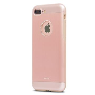 【iPhone 8 Plus / 7 Plus】moshi Armour 鋁製保護殼-粉