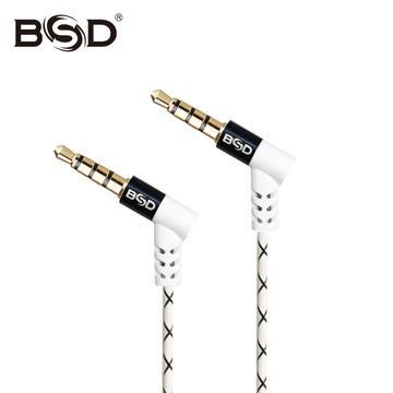 BSD SP-212 音源轉接線公對公-黑(SP-212)