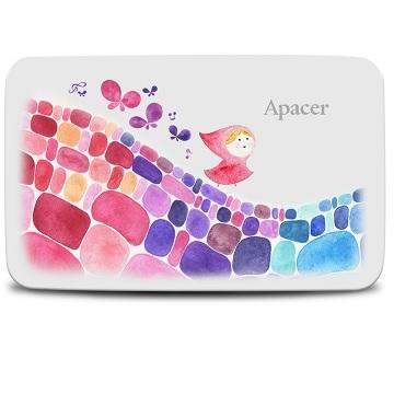【1TB】Apacer 宇瞻 克里斯多 AC233 外接硬碟(AP1TBAC233CA-S)