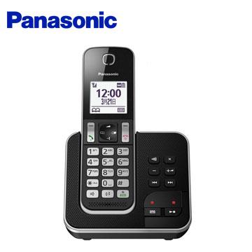 Panasonic中文顯示數位答錄無線電話(KX-TGD320TWB)