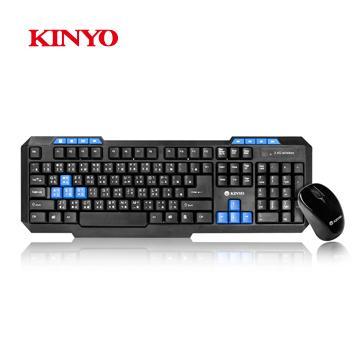 KINYO 2.4GHz無線鍵盤鍵鼠組(GKBM-881)