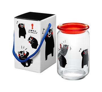 KUMAMON 玻璃儲物罐(G5NA1)