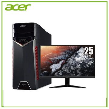 【同捆組】Acer GX-781 Ci5-7400 GTX1050 電競桌機 +【25型】ACER KG251Q 電競螢幕