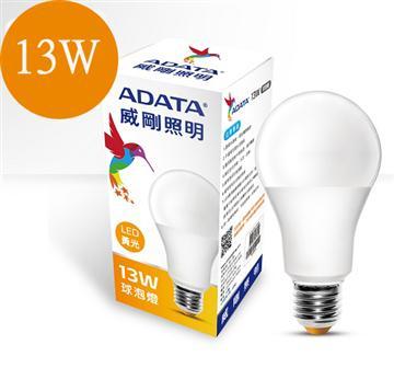 ADATA 威剛13W LED燈泡-黃光(AL-BUA19C-13W30C)
