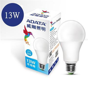 ADATA 威剛13W LED燈泡-白光(AL-BJA19C-13W65C)