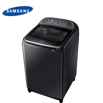 SAMSUNG 13公斤雙效手洗變頻洗衣機-奢華黑
