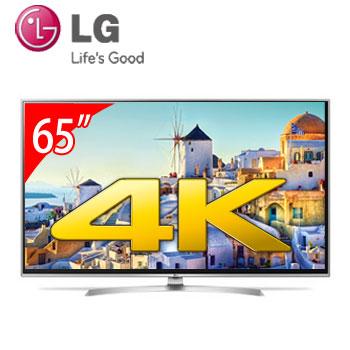 【展示機】 LG 65型廣色域4K智慧連網電視(65UJ658T)