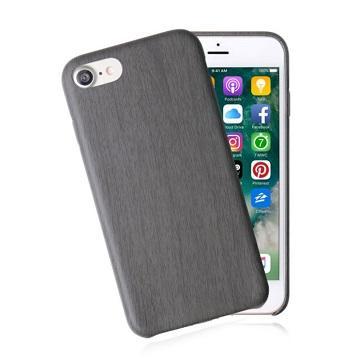 【iPhone 8 / 7】JTL 經典木紋保護套-黑檀木(木紋黑I7)