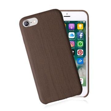 【iPhone 8 Plus / 7 Plus】JTL 經典木紋保護套-胡桃木(木紋胡桃7P+)