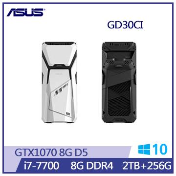 ASUS GD30 Ci7-7700 GTX1070 桌上型主機