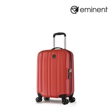 eminent品味時尚輕量PC行李箱19吋巧克力紅(KE65)