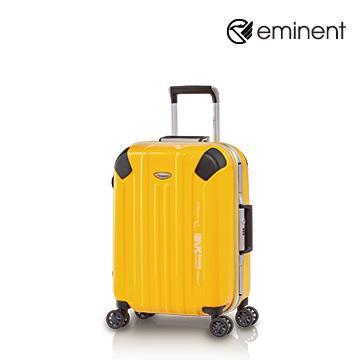 eminent艾柏納飛機輪全PC行李箱20吋檸檬黃(9L8)