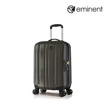 eminent品味時尚輕量PC行李箱19吋咖啡(KE65)