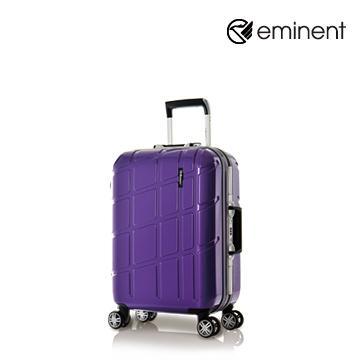 eminent幾何變奏曲全PC行李箱20吋魔術紫(9P3)