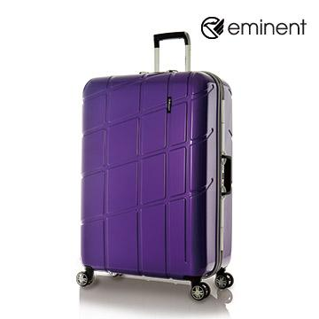eminent幾何變奏曲全PC行李箱28吋魔術紫(9P3)