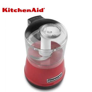 【拆封品】KitchenAid迷你食物調理機-經典紅