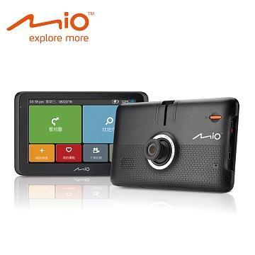 「64G超值組」【5合1】Mio MiVue Drive 60 6吋GPS行車記錄導航機