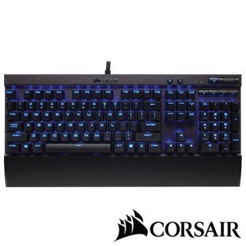 CORSAIR K70 LUX機械電競鍵盤-紅軸中文藍光