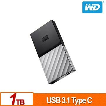 WD My Passport SSD 1TB 外接式固態硬碟