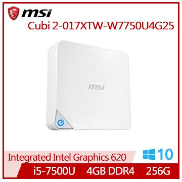 MSI Cubi 2-017XTW i5-7500U雙核迷你型主機(Cubi 2-017XTW-W7750U4G25)